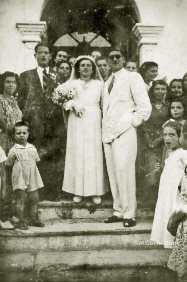 Μπενίτσες - γάμος του Αντρέα Σκευούλη το 1950