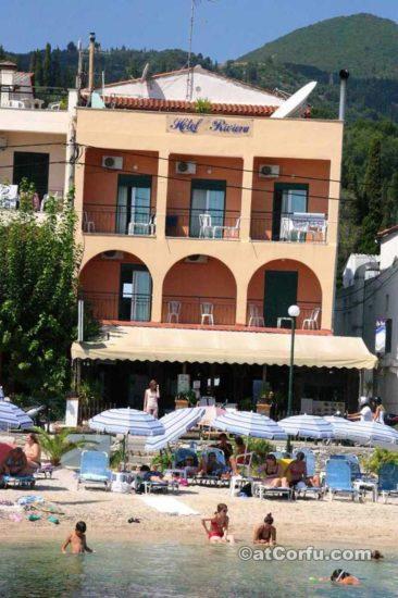 Μπενίτσες - ξενοδοχείο Ριβιέρα