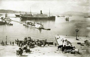 Παλιές φωτογραφίες της Κέρκυρας- Ιταλοί φεύγουν το 1927
