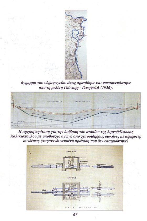 Ρωμαϊκό υδραγωγείο Κέρκυρας. βιβλίο του Τάσου Κατσαρού,σελίδα-45