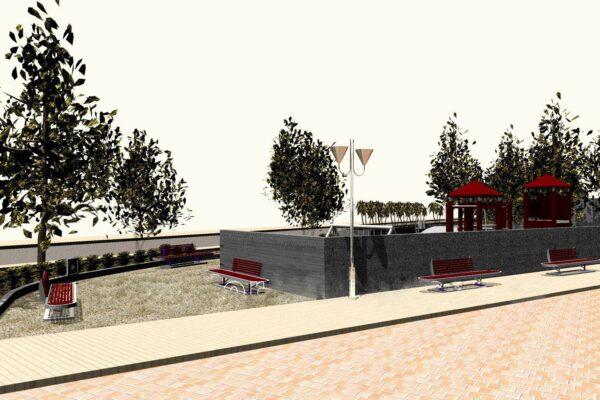 Πλατεία Μπενιτσών - Πεζόδρομος