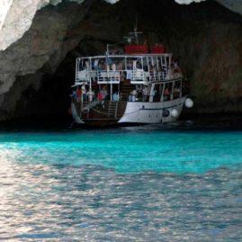Κέρκυρα- θαλάσσιες σπηλιές στους Παξούς