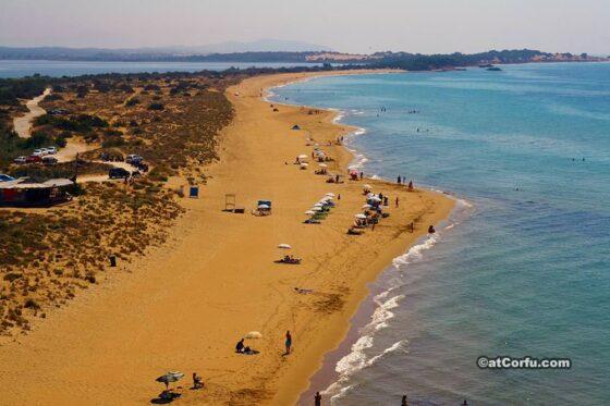 Κέρκυρα- παραλία Χαλικούνα
