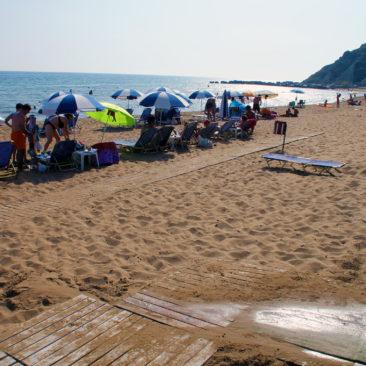 Παραλία Γαρδένος στους Βιταλάδες