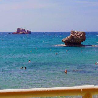 παραλία Γυαλισκάρι στην Κέρκυρα