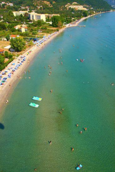 Μωραΐτικα παραλία