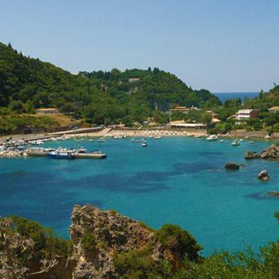 Παραλία Παλαιοκαστρίτσας Κέρκυρα