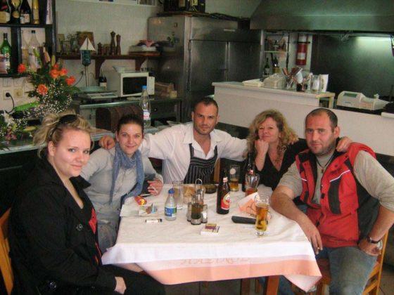 Εστιατόριο Παξινός στις Μπενίτσες