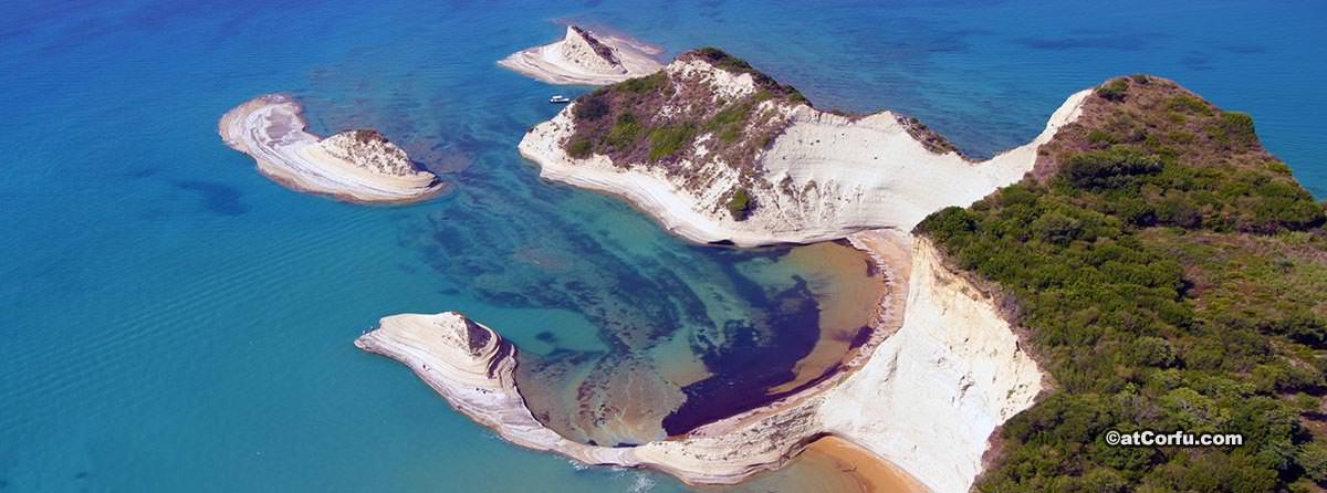Περουλάδες Κέρκυρα και η Άγρια Παραλία Λογγάς