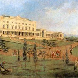Κέρκυρα - παλάτι Αγίων Μιχαήλ και Γεωργίου σε γκραβούρα