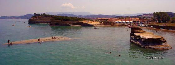 Παραλία Σιδάρι Κέρκυρα