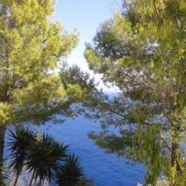 Παλαιοκαστρίτσα - θέα προς τη θάλασσα