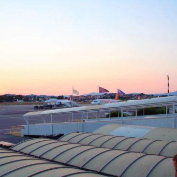 Άποψη στο αεροδρόμιο Κέρκυρας