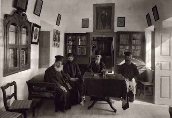 Παπάδες στη Σαντορίνη-1911