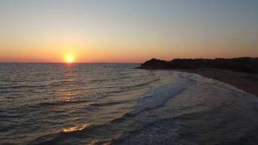 Ηλιοβασίλεμα στο Χαλικούνα