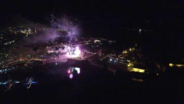 Πάσχα στην Κέρκυρα-πυροτεχνήματα 2016