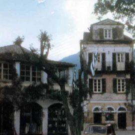 Το παλιό σπίτι των Βανδώρων και το εστιατόριο του Κεφαλονίτη-1960