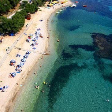Κέρκυρα φωτογραφίες,Παραλία Αγίου Ιωάννη περιστερών