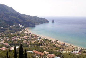Corfu photos,beach at Agios Gordis