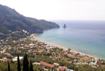 Beach at Agios Gordis
