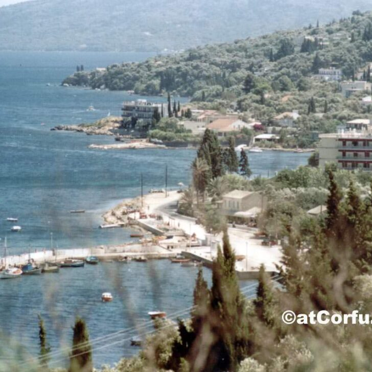 This is How Benitses Port Looked Back in 1981