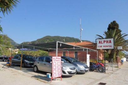 Benitses - Alpha car rental
