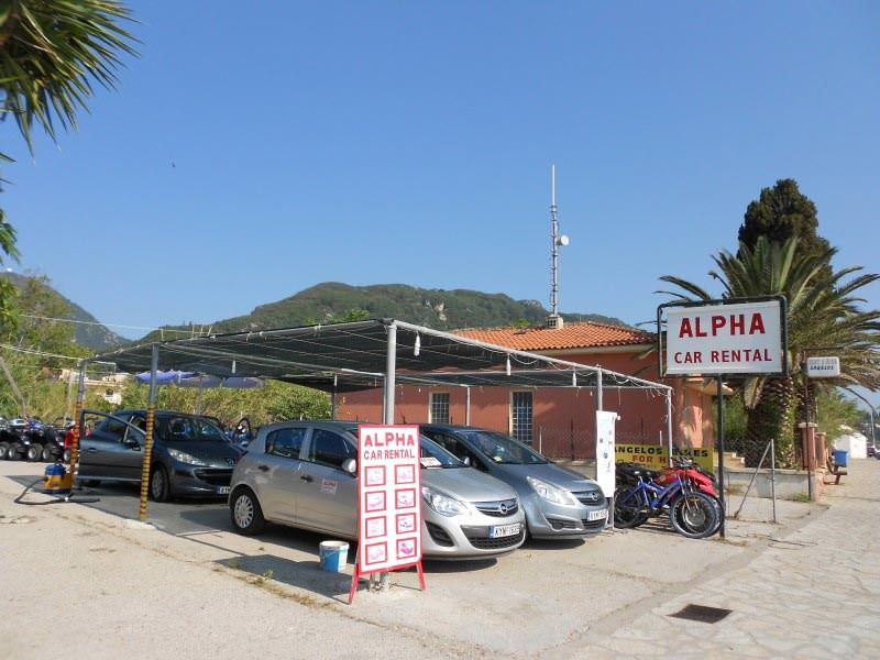 Alpha Car Rental in Benitses
