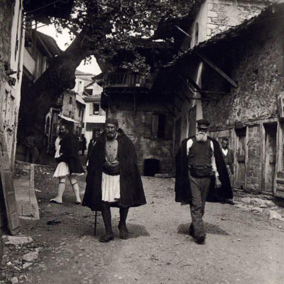 Men in Andritsaina at 1903