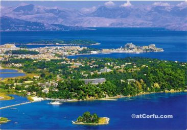 Corfu photos,mouse island and Kanoni