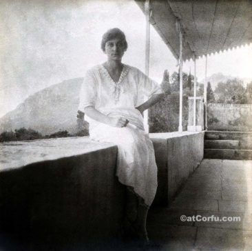 Benitses - Flabouriaris daughter at San Stefano 1919