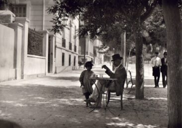 Coffe in Athens of 1920