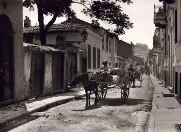 Athens, old Plaka 1920