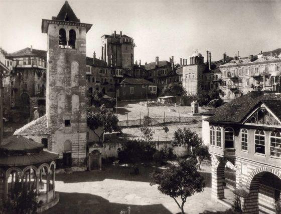 Vatopedi monastery in Athos