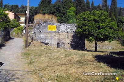 Benitses - Roman baths at Corfu