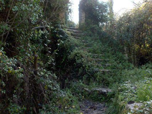 at Aqueduct in Benitses