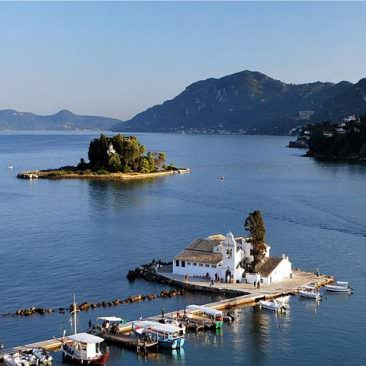 Corfu Monuments and sights