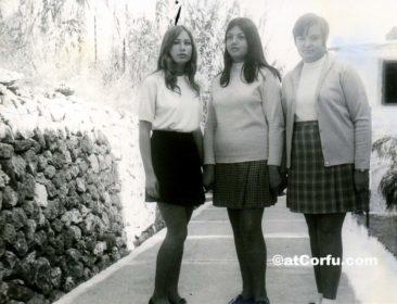 Benitses -evaggelia, Eleni, Katerina 1972