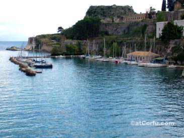 Corfu photos,old fortress from faliraki