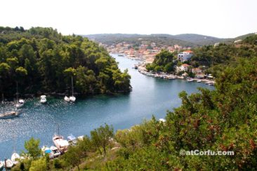 Corfu photos,Gaios the capital of Paxos