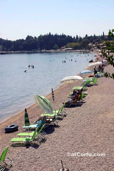 Corfu photos, Ipsos beach