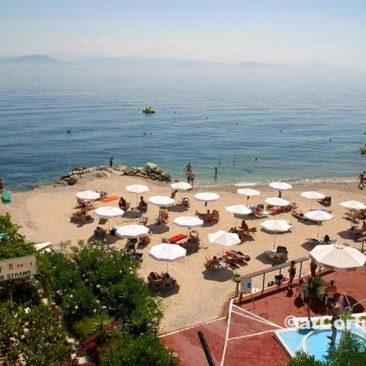 Benitses - beach under San Stefano