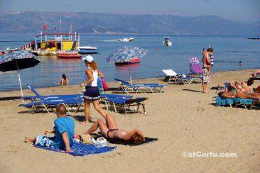 Corfu photos - Kavos beach