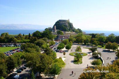Corfu photos - espianada square