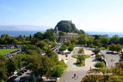 Corfu photos - espianada square