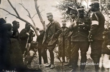 Benitses - King Konstantin in Balcan war of 1912