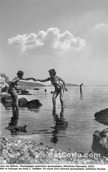 Nudists at Laopetra 1912
