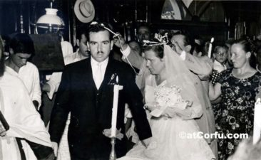 Benitses - Loula`s marriage 1960