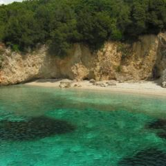 Blue lagoon at Syvota