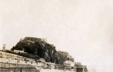 Corfu old photos-old fortress