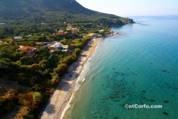 Corfu photos - Paramonas beach